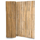 Scherm in bamboe, gespleten 1,5 x 5 m