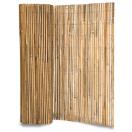 Scherm in bamboe, gespleten 2 x 5 m