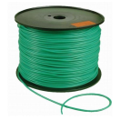 Bindgaine super plastiek 5/6 mm  250 m groen