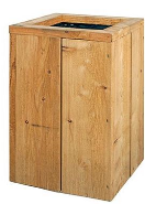 Bloembak lariks-steigerhout 40x40x60 - FSC