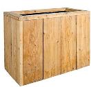Bloembak lariks-steigerhout 80x40x60 - FSC