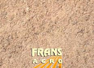 Bomenzand obv ééntoppig zand (onder bestrating) afgehaald