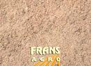 Bomenzand obv ééntoppig zand (onder bestrating) geleverd