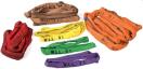 Hijsband geel 150 cm - 3 ton