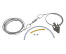 Boomverankering - kroonverankering met 3 punt kabel - kit 4
