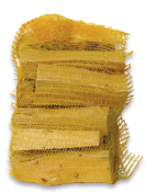 Brandhout (in plastiek zak) - 6 kg