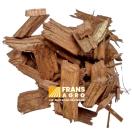 Coloredchips bruin (droog) afgehaald  (LOS)
