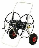 De Pypere slangenhaspel professioneel met luchtbanden 50m 1