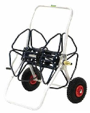 De Pypere slangenhaspel professioneel met luchtbanden 100m 3/4