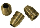 De Pypere set 4 ronde metalen spieën 2 grote, 2 kleine