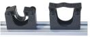 De Pypere ophangsysteem rail 90cm + 5 clips