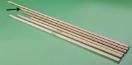 Steel borstel 150 cm x 24 mm