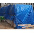 Dekzeil 4 m x 5 m blauw 100 g/m²