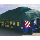 Container Gaasweefsel PET/PVC 250g/m² 3,5 m x 8 m zwart