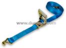 Sjordband met ratelspanner 50 mm x 9 m 4000 daN blauw/geel