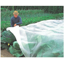 Anti-insectennet (0,27 x 0,77 mm) 2,5 m breed (wit transparant)