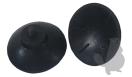 Set van 2 rubberen opraapkapjes