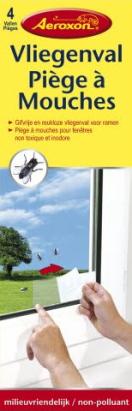 Aeroxon Vliegenval Voor Ramen (4 stuks)
