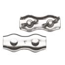 Cordverbinder met vleugelmoer (4 stuks)
