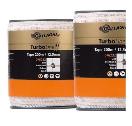 Duopack TurboLine lint 12,5mm wit 2x200m