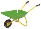 Kinderkruiwagen metaal groen