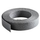 Gazonafboording Ecolat grijs rol 14cm H x 0,7 x 25m L