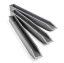 Gazonafboording Ecopin 4 x 4 x 76 cm H-profiel