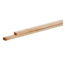 Houten panlat geimpregneerd (hoeken afger) 420cmx2,2x3,5 H