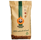 Houtpellets Badger 15 kg - DIN Plus - 6 mm pellet