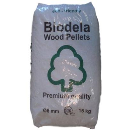 Houtpellets Biodela 15 kg - DIN Plus - 6 mm pellet