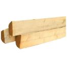 Kastanjehouten paal 100 cm - 8/10 cm gekloven/halfrond