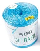 Koord polyprop blauw 350m/kg / bobijn van 5 kg