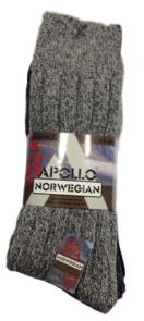 Kousen Noorse sokken grof 43/46 (3 paar)