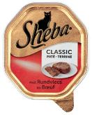 Sheba classic rund paté 85g