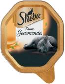 Sheba gourmandes kalkoen & kip 85g