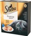 Sheba alu finesse mousse 12x85gr