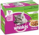 Whiskas MP 1+ vis & vlees gelei 12 x 100 g