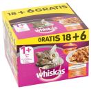 Whiskas MP 1+ casserole classic 18 x 100 g + 6 gratis