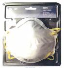 Masker filterend halfmasker tegen stof (FFP1)