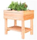Moestuin tafel 60 B x 80 L x 80 H cm