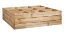 Moestuin tafel / Kruidenbox 88 B x 88 dia x 24 H cm