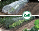 Nature Tuintunnelset Duo H 45 x 60 x 300cm