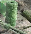 Nature Jute touw groen 75m