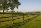 Paardenomheining Oklahoma legplank 5,00 m