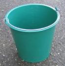 Emmer plastiek groen 11 L
