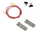 Aansluitkabel lint 40mm, met 130 cm kabel