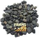 Siergrind Beach Pebbles zwart  5/8 mm geleverd