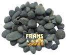 Siergrind Beach Pebbles zwart  8/16 mm afgehaald (BB)