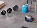 Terrateck thermoperfo Boomkwekerij draagarm voor gasflessen 2,8 kg