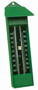 Thermometer min-max groen Koch